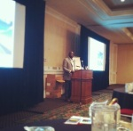 Presenting at the Annual Sales Meeting