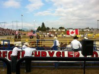 The Mighty Fraser Rodeo at Agrifair, Abbotsford