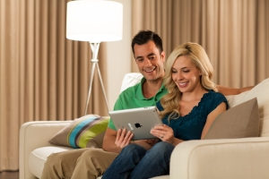Control your home with your tablet or smartphone