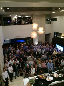 Our opening night reception at the Phantom Screens Annual Distributor Conference