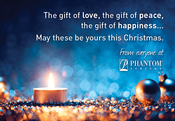 Christmas Wishes from Phantom Screens