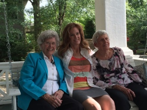 Sitting a spell with two amazing Southern ladies