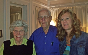 Miss Katherine, Dr. Sid and me